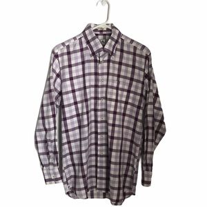 Peter Millar checked casual button down shirt